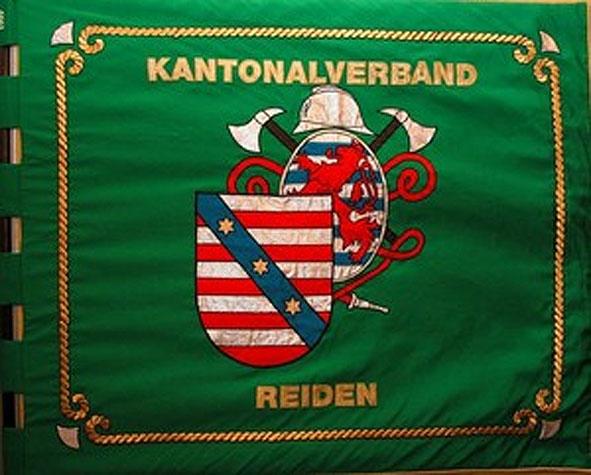 De Fändel vum Kantonalverband Réiden