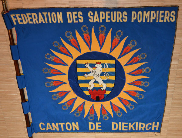 De Fändel vum Kantonalverband Diekirch