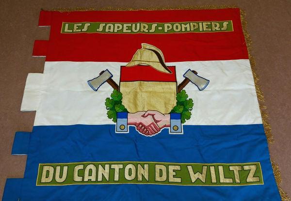 De Fändel vum Kantonalverband Wolz