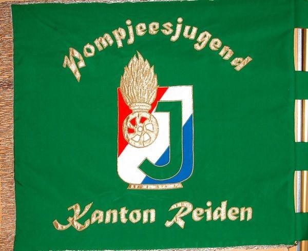 De Jugendfändel vum Kanton Réiden