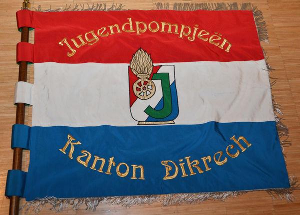 De Jugendfändel vum Kanton Dikrech